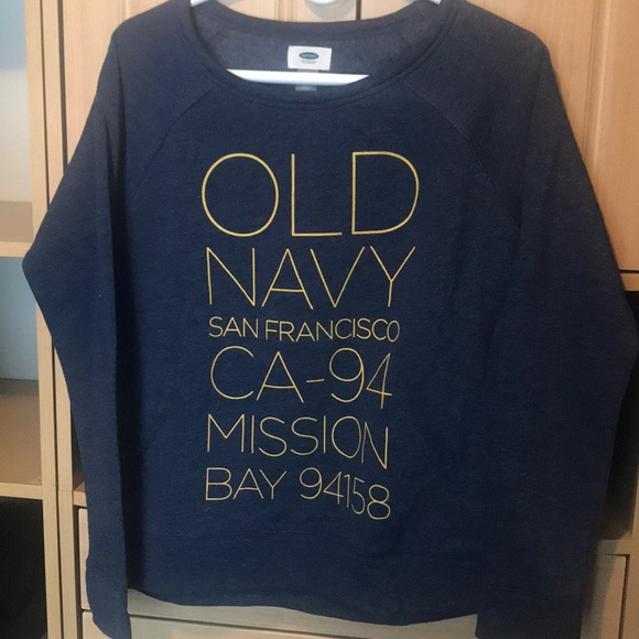 ecc0a7db30ea0 Old Navy NWT sweat shirt pullover Small